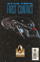 """Gates McFadden Signed 1996 """"Star Trek: First Contact"""" Vol. 1 Issue #1 Marvel Comic Book (Beckett COA) at PristineAuction.com"""