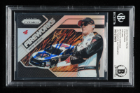 Kevin Harvick Signed 2018 Panini Prizm Fireworks #5 Silver Prizms (Beckett Encapsulated) at PristineAuction.com