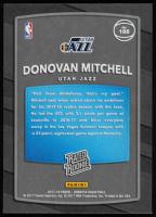 Donovan Mitchell 2017-18 Donruss #188 RC at PristineAuction.com