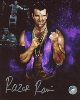 Razor Ramon Signed WWE 8x10 Photo (Pro Player Hologram) at PristineAuction.com