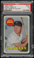 Mickey Mantle 1969 Topps #500 (PSA 3) at PristineAuction.com