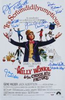 """Willy Wonka & The Chocolate Factory"" 12x18 Photo Signed By (6) with Gene Wilder, Peter Ostrum, Paris Themmen, Denise Nickerson, Julie Dawn Cole with Multiple Inscriptions (JSA LOA & PSA COA) at PristineAuction.com"