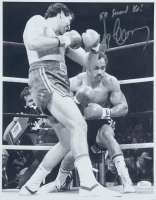 """Gerry Cooney Signed 11x14 Photo Inscribed """"54 Second KO!"""" (JSA COA) at PristineAuction.com"""
