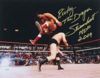 "Ricky ""The Dragon"" Steamboat Signed 11x14 Photo Inscribed ""HOF 2009"" (JSA COA) at PristineAuction.com"