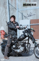 "Norman Reedus Signed ""The Walking Dead"" 11x17 Photo (JSA COA) at PristineAuction.com"