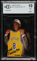 Kobe Bryant 1996-97 Metal #137 RC (BCCG 10) at PristineAuction.com