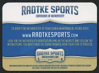 """Brett Favre Signed Green Bay Packers Matte Black Full-Size Speed Helmet Inscribed """"95, 96, 97 MVP"""" & """"HOF 16"""" (Radtke COA) at PristineAuction.com"""