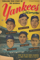 Joe DiMaggio Signed 1952 Yankees Magazine (JSA LOA) at PristineAuction.com