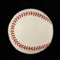 Jose Vizcaíno Signed ONL Baseball (Beckett COA) at PristineAuction.com
