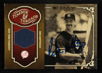 Don Mattingly Signed 2005 Donruss Timber & Threads Jersey #10 (JSA COA) at PristineAuction.com
