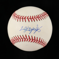 Anderson Espinoza Signed OML Baseball (Beckett COA) at PristineAuction.com