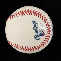 Anderson Espinoza Signed OML Baseball (Beckett COA) at PristineAuction.com