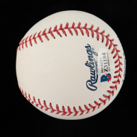 Francisco Mejia Signed OML Baseball (Beckett COA) at PristineAuction.com