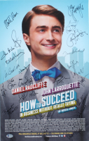 """How to Succeed in Business Without Really Trying"" 14x22 Poster Print Signed by (25) with Daniel Radcliffe, John Larroquette, Tammy Blanchard, Rob Bartlett, Rose Hemingway (Beckett LOA) (See Description) at PristineAuction.com"