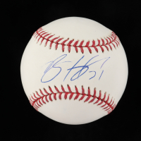 Brent Honeywell Signed OML Baseball (Beckett COA) at PristineAuction.com