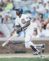 Andre Dawson Signed Cubs 8x10 Photo (Beckett COA) at PristineAuction.com