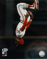 """Ozzie Smith Signed Cardinals 8x10 Photo Inscribed """"HOF 02"""" (Beckett COA) at PristineAuction.com"""