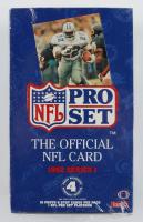 1992 NFL Pro Set Series I Football Box of (36) Packs at PristineAuction.com