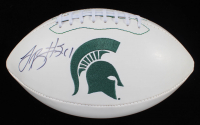 Le'Veon Bell Signed Michigan State Spartans Logo Football (JSA COA) at PristineAuction.com