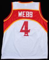 Spud Webb Signed Jersey (JSA COA) at PristineAuction.com