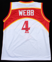 Spud Webb Signed Jersey (JSA COA) at PristineAuction.com