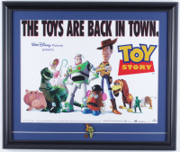 """""""Toy Story"""" 17x20 Custom Framed Photo Display with (1) Toy Story Pin at PristineAuction.com"""
