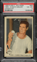 Ted Williams 1959 Fleer #56 2,000th Hit 8 / 11 / 55 (PSA 4) at PristineAuction.com