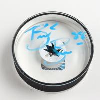 Brent Burns Signed Sharks Logo Acrylic Hockey Puck (Burns COA) at PristineAuction.com