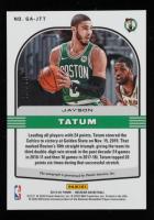 Jayson Tatum 2019-20 Panini Obsidian Galaxy Autographs #37 at PristineAuction.com
