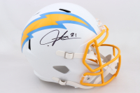 LaDainian Tomlinson Signed Chargers Full-Size Speed Helmet (Beckett COA) at PristineAuction.com