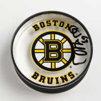 Brad Marchand Signed Bruins Logo Acrylic Hockey Puck (Marchand COA) at PristineAuction.com