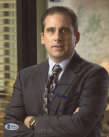 "Steve Carell Signed ""The Office"" 8x10 Photo (Beckett COA) (See Description) at PristineAuction.com"