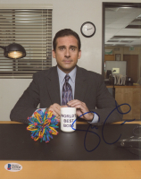 "Steve Carell Signed ""The Office"" 8x10 Photo (Beckett COA) at PristineAuction.com"