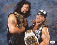 """Kevin Nash & Shawn Michaels Signed WWE 8x10 Photo Inscribed """"HBK"""" (JSA COA) at PristineAuction.com"""