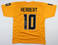 Justin Herbert Signed Jersey (Beckett COA) (See Description) at PristineAuction.com