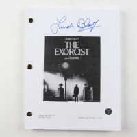 "Linda Blair Signed ""The Exorcist"" Full Script (Legends COA) at PristineAuction.com"