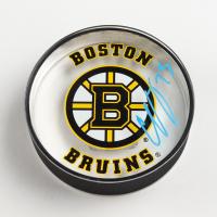 Charlie McAvoy Signed Boston Bruins Logo Acrylic Hockey Puck (McAvoy COA) at PristineAuction.com