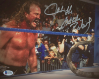 "Jake ""The Snake"" Roberts Signed WWE 8x10 Photo (Beckett COA) at PristineAuction.com"