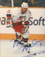 Mike Modano Signed Team USA 8x10 Photo (PSA COA) at PristineAuction.com