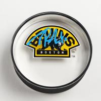 Tuukka Rask Signed Bruins Logo Acrylic Hockey Puck (Rask COA) at PristineAuction.com