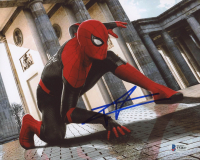 "Tom Holland Signed ""Spider-Man"" 8x10 Photo (Beckett Hologram) at PristineAuction.com"