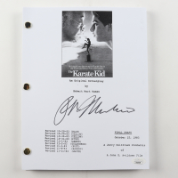 "Ralph Macchio Signed ""The Karate Kid"" Full Script (JSA COA) at PristineAuction.com"