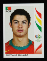 Cristiano Ronaldo 2006 Panini World Cup Stickers #298 at PristineAuction.com