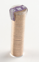 Ballistic Roll of (50) Uncirculated Danbury Mint George Washington Presidential Dollars at PristineAuction.com