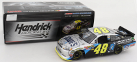 Jimmie Johnson Signed LE #48 Lowe's Jimmie Johnson Foundation 2011 Impala 1:24 Scale Stock Car (Beckett COA) (See Description) at PristineAuction.com