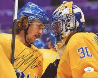 Carl Hagelin Signed Team Sweden 8x10 Photo (JSA COA) at PristineAuction.com