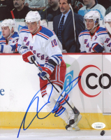 Marian Gaborik Signed Rangers 8x10 Photo (JSA COA) at PristineAuction.com