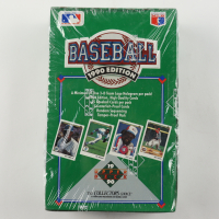 1990 Upper Deck Series 1 Baseball Wax Box of (36) Packs at PristineAuction.com