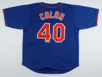 "Bartolo Colon Signed Jersey Inscribed ""Big Sexy's Only Dinger 5/7/16"" (JSA COA) at PristineAuction.com"