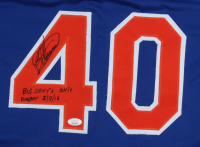"""Bartolo Colon Signed Jersey Inscribed """"Big Sexy's Only Dinger 5/7/16"""" (JSA COA) at PristineAuction.com"""